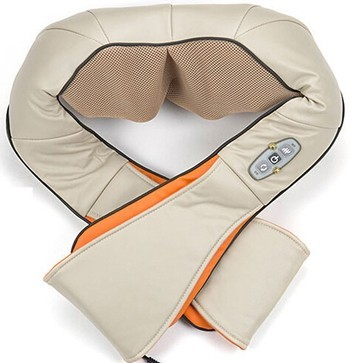 Full automatic massage warming slimming reduce fat massage belt with durable knitting pu material