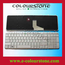 Original US Layout Notebook Keyboard For HP Pavilion DV7 Silver