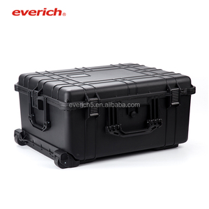 IP67 Wheeled Plastic Equipment Case Protective Rugged Waterproof Cases / Professional Protective Weatherproof Foam Included