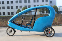 Three Wheel Electric Tricycle Eco Taxi