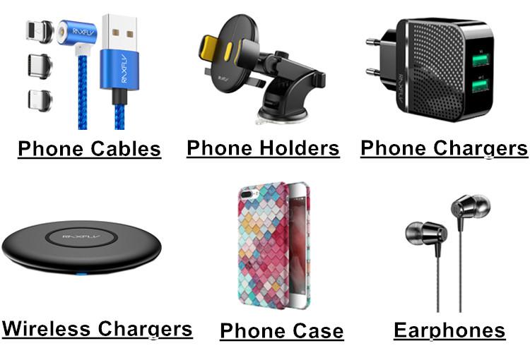 Frete Grátis RAXFLY Rápido Carregamento Do Carregador Do Telefone Móvel Micro Usb Tipo C 3 Em 1 Cabo USB Magnético