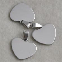 Yiwu Aceon Jewelry Accessory Stainless Steel Heart Shape metal name tag