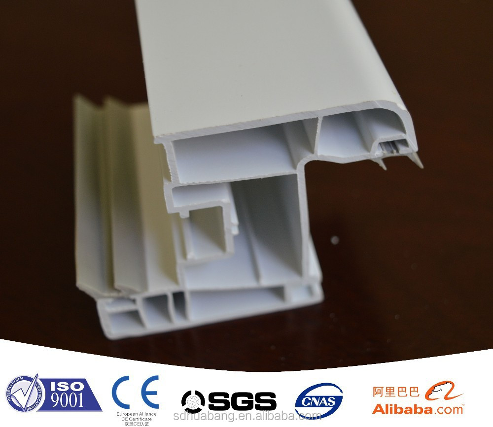 other tppes of soft and hard coextrusion plastic pvc/upvc profile for window