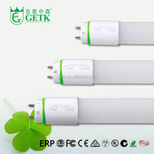 Innovation design 120lm/w Milky Cover t8 single end dlc ul approved direct wire led tube 4ft