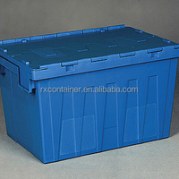 Turnover Box With Lid Plastic Storage