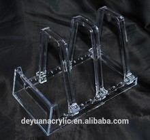 Custom Adjustable Acrylic Plate Dispaly Holder