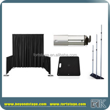 wholesale aluminum collapsible pipe and drape backdrop stand