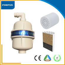 Best price Universal Chlorine Remove 4 Stage KDF Carbon Shower Water Filter Cartridge