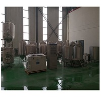 Malt beer brewery production plant