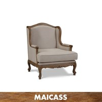 Country Sofa Oak French Wood Maicass