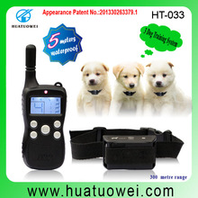 waterproof electric control remote training multi pet fence system of fencing dog kennels 033 with LCD dIisplay