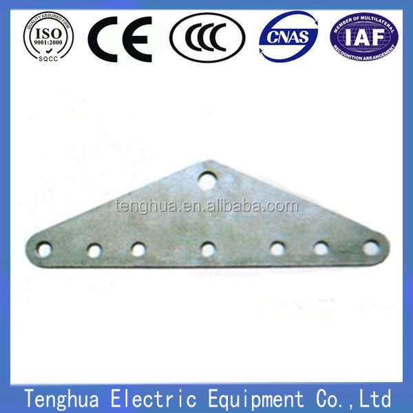 Dead end adjustable Steel Yoke Plates link fitting