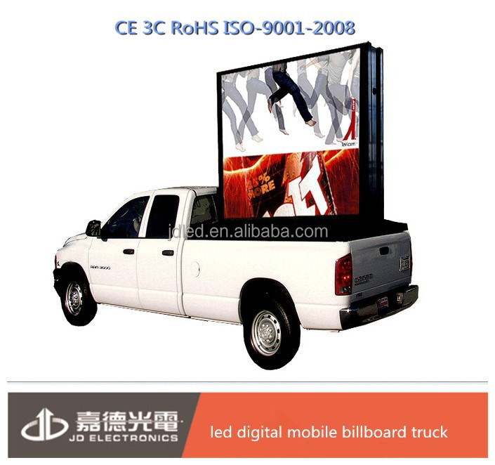 2015 china wholesale led digital mobile billboard truck