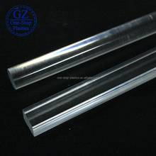 Strong and rigid plastic bar clear acrylic round rods