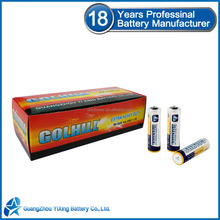 R6 Mercury battery um3 size aa 1.5v dry battery