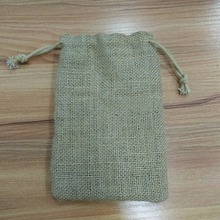Burlap Jute coffee Bag,Small Jute Gift Bag,Jute Burlap Cosmetic Bag