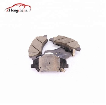 Auto part front wheel brake pad for Geely EC7 106400172402