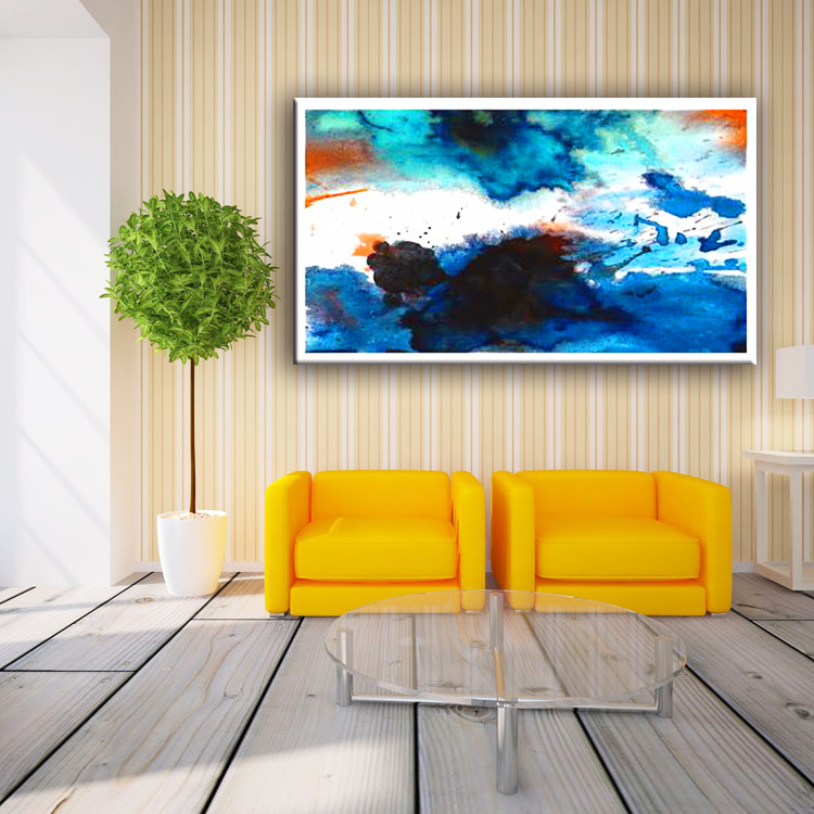 Hot Sale China MDF Abstract Paintings On Canvas