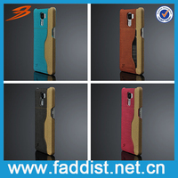 Manufacture factory OEM Handmade leather case for Huawei Honor 7 cover
