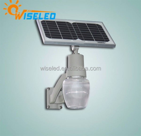 Wall Mounted and Pole Mounted 6 watt Led Solar power Garden Light