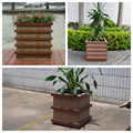 WPC outdoor large flower pot