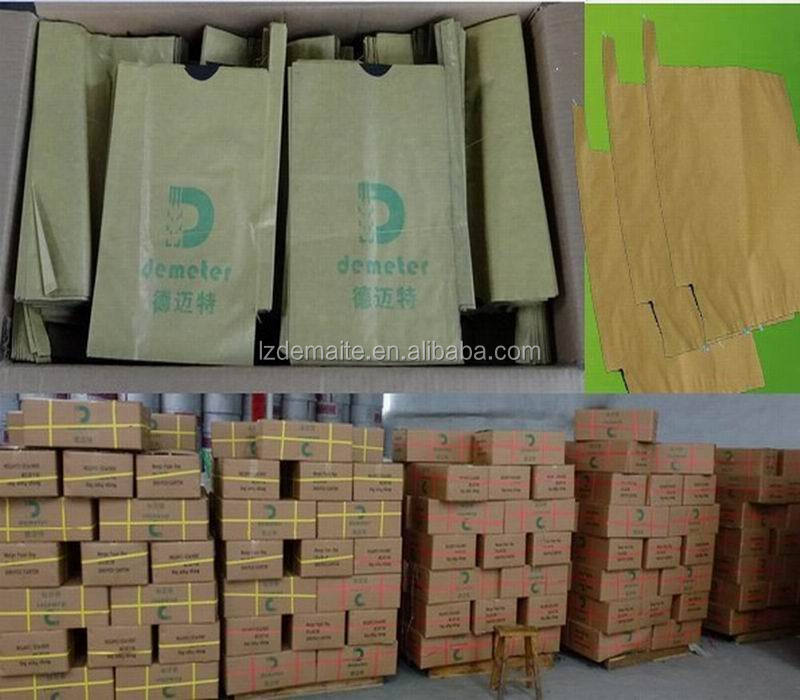 Promotion Price Hot Sale Peru Size Customizable Water Resistant Prevent Birds Fruit Growing Grape Protection Paper Bag