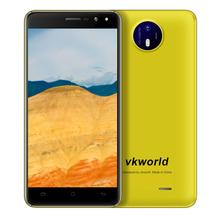 Newest Mobile Phone 3G Android 6.0 VKWORLD F2 Dual SIM 5.0 inch 2.5D Low Cost Smartphone 2800mAh with GPS 2GB+16GB