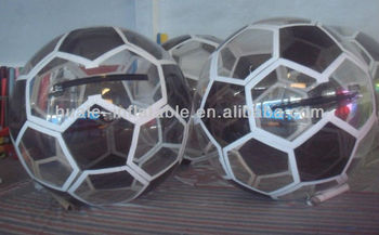 High quality football water walking ball
