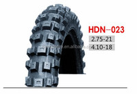 New Pattern Motorcycle Tire 2.75-21, 4.10-18