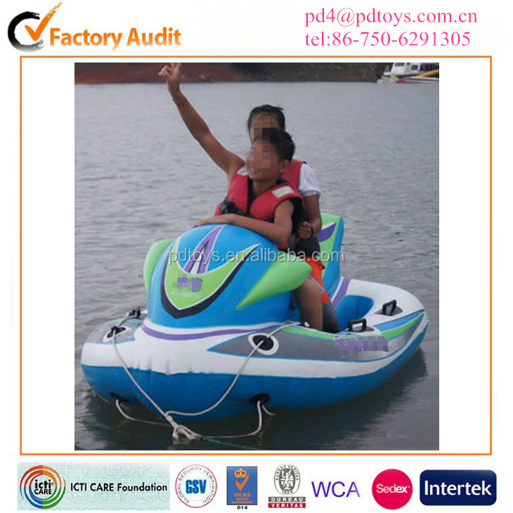 Electric inflatable water scooter jet water ski