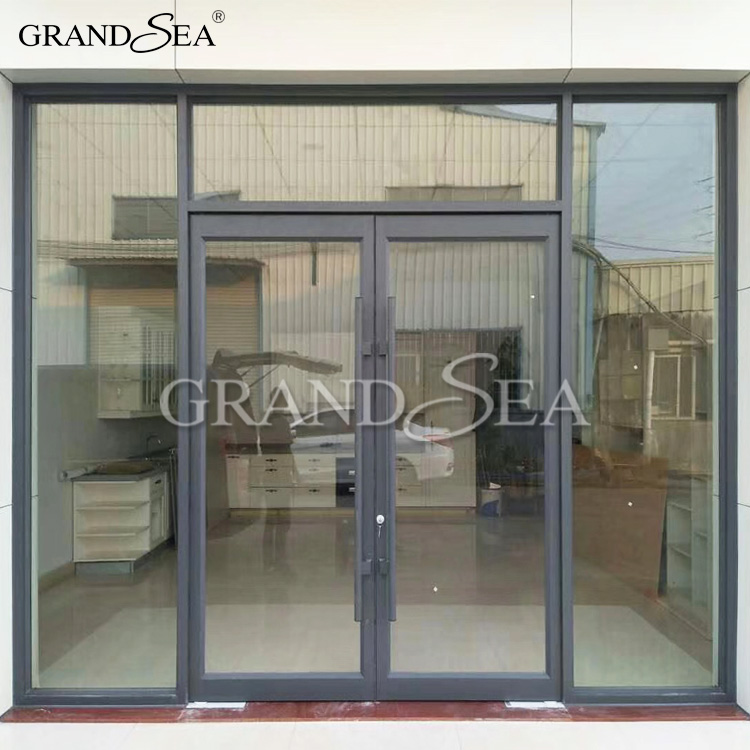 Cheap price of used commercial glass windows designs