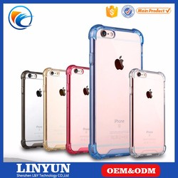 Hybrid Rubber Clear TPU PC Back Cover Case for Apple iPhone 6 6S Plus 7,for iPhone 6 4.7 5.5 Covers
