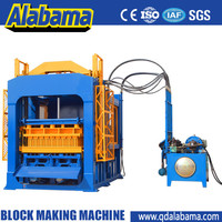 Large Pressure concrete block making machines