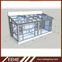 New Design Glass Victorian Glass House