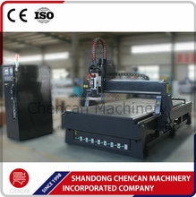 2017 New ATC CNC Milling machine 1325 for woodworking MDF wood cutting