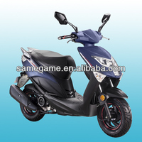 50cc scooter/125cc moped/150cc gasonline 2013 newest gas scooter with best design,LED light,EEC & COC approval scooter 50QT-36