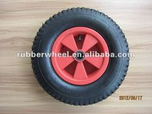 15 inch rubber pneumatic wheel; 4.80/4.00-8 garden car wheel