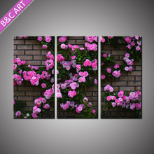 3d Wall Stickers Interior Home Decor Rose Flower Painting Designs