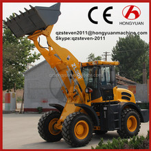 Articulated wheel loader 2000kg, chinese hydraulic 4wd wheel loader 2000kg, ZL20F with CE