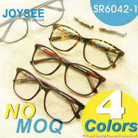 Ultra Thin Frame! 2016 Joysee Manufacture Modern Optical Acetate Large Frame Reading Eye Glass For Women