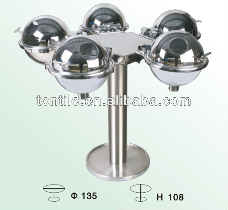 [Tontile] BA5555 Buffet equipment five-star sphere rotatable