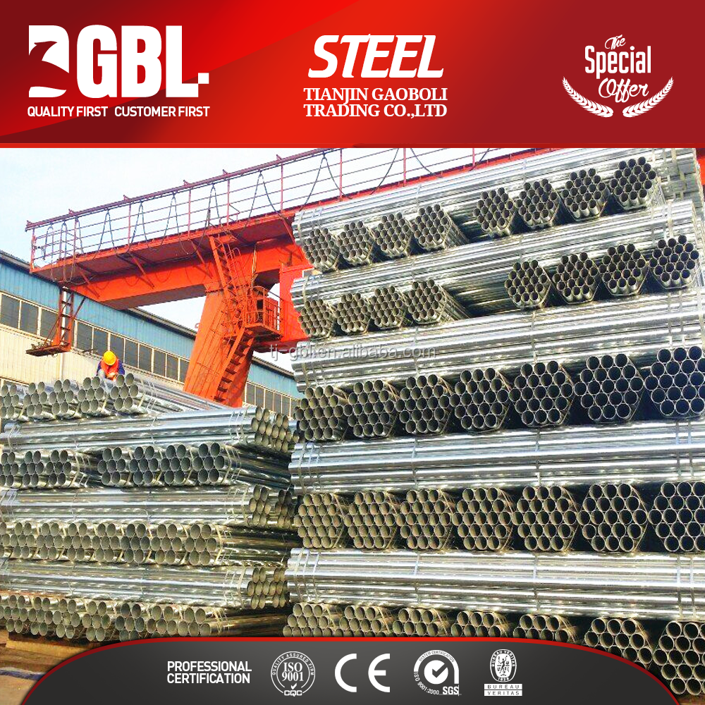 galvanized scaffolding steel pipe weights