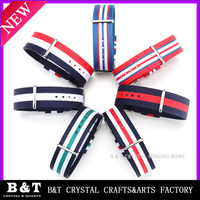 Wholesale NATO Watch Band Nylon FabricStriped Line Color Watch