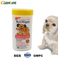 Care Prevent Germ Antiseptic Love Pet Cleaning Wet Wipes for Dog