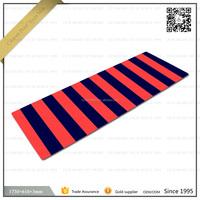 New premium custom printed durable gymnastic pilate& yoga mats