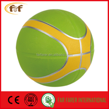 OEM size 7 rubber basketball /printing basketball
