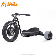 2017 newest factory directly selling Single Motor electric drift trike for adult
