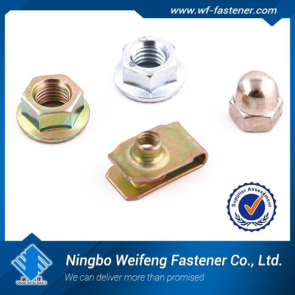 china hot sale stainless steel 304 M3 Serrated Flange Nut,flange nut