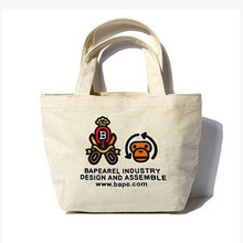 2015 Cheaper promotion cotton cloth tote bag for shopping