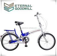 Hot sale pocket bike with single speed and 20 inch 2 wheel bicycle made in china folding bike
